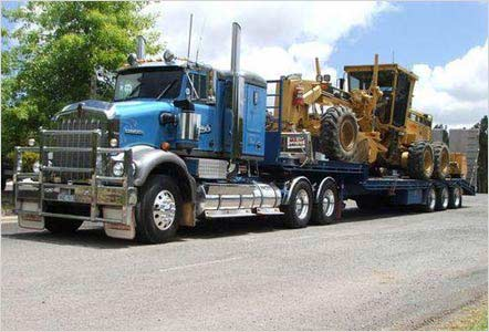 Heavy Equipment Shipping