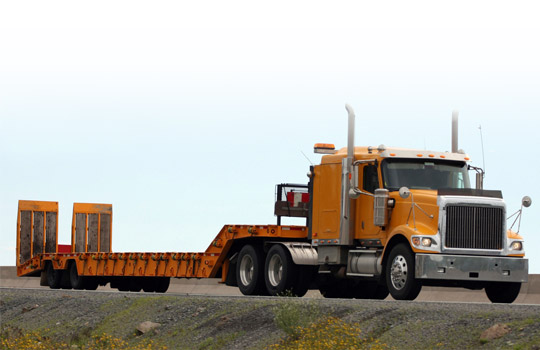 Heavy Equipment Specialized Trailer