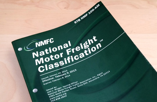 National Motor Freight Classification Book