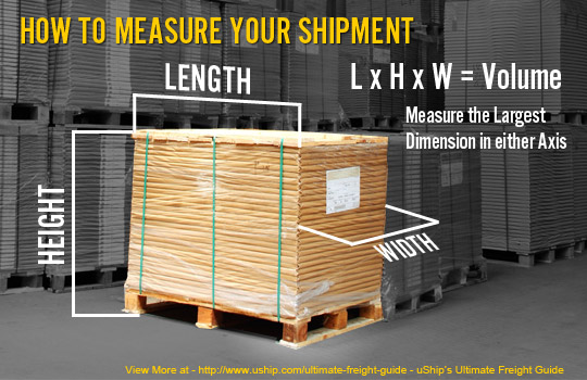 How to Measure Length, Height, Width, and Volume for Freight Shipments